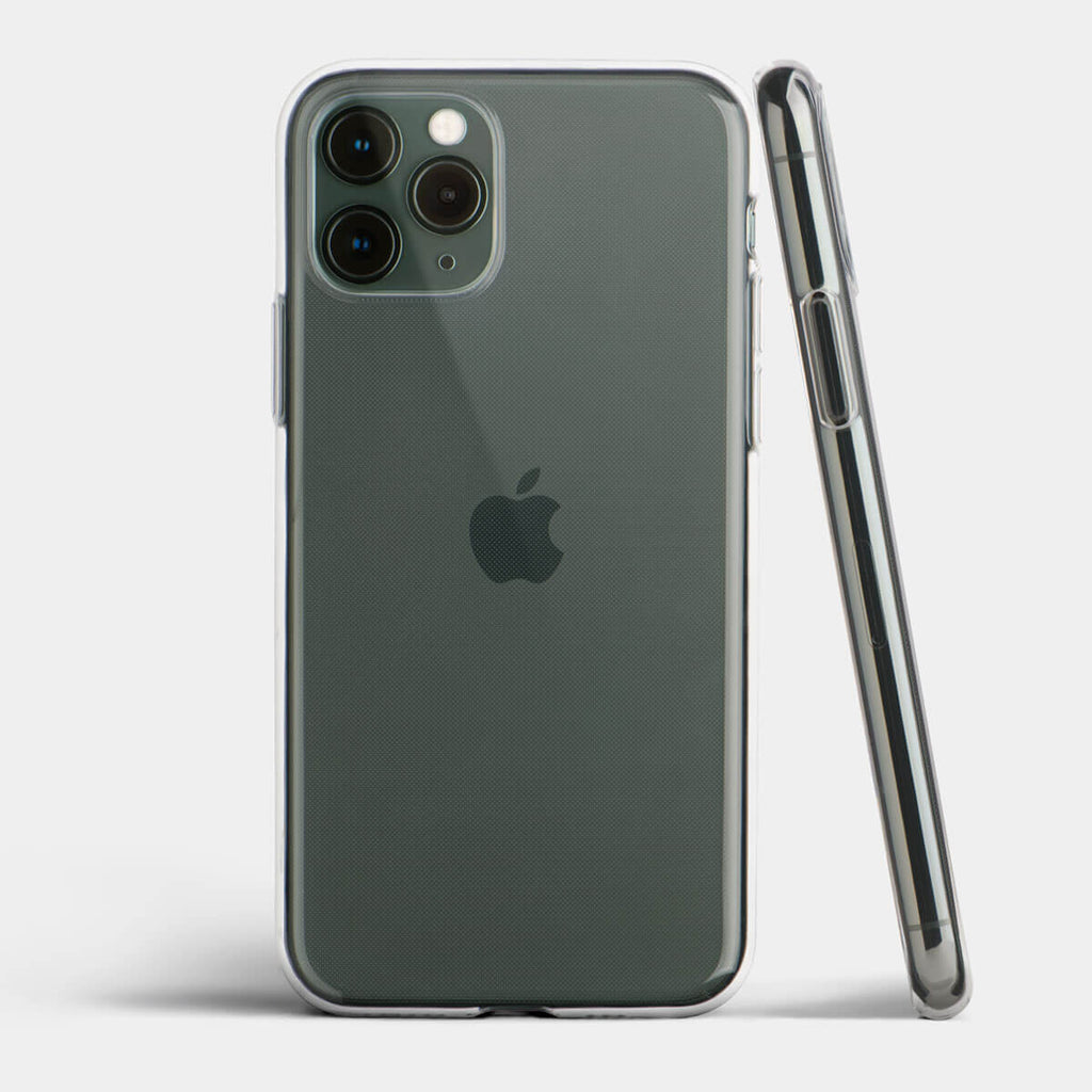 Ultra thin iPhone 11 Pro case by totallee, Clear (Soft)