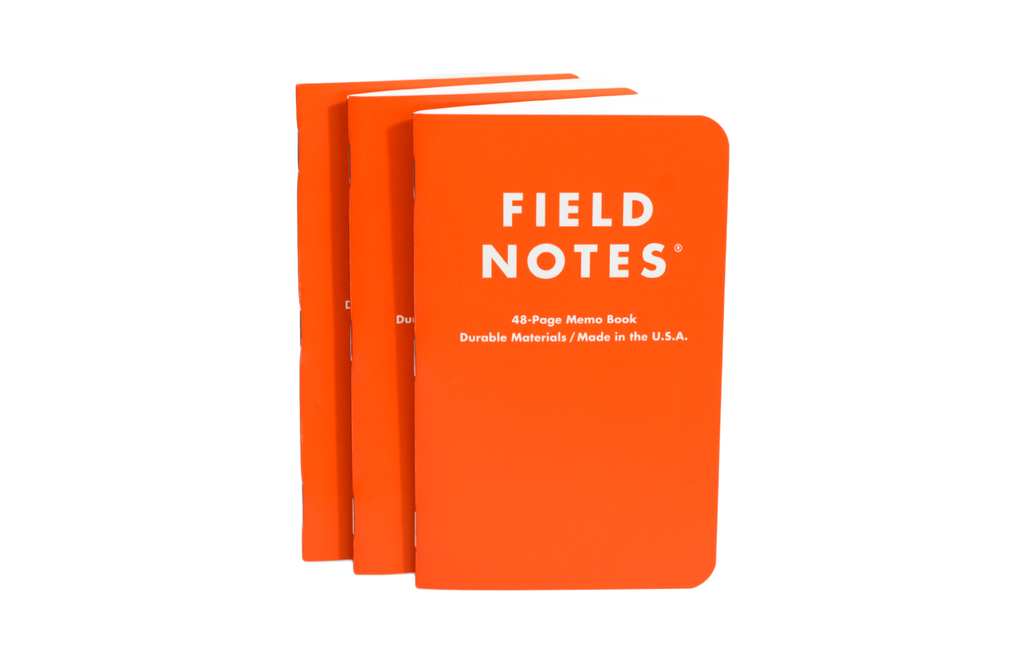 Field Notes - Waterproof Notebook Expedition Edition 3-pack