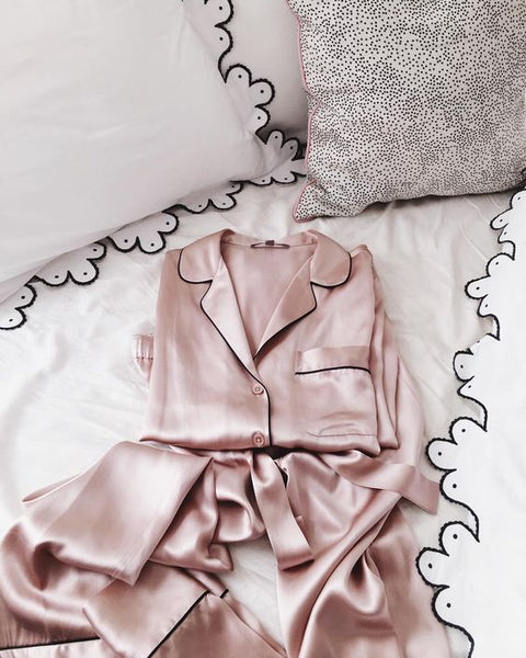 mothers day gift - silk pajamas