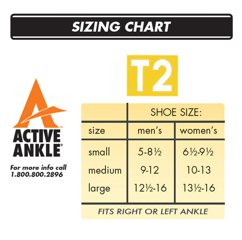 Active Ankle T2 Fitting Instructions