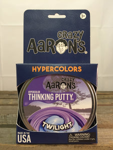 Twilight Hyper colour Putty - Aaron's Thinking Putty