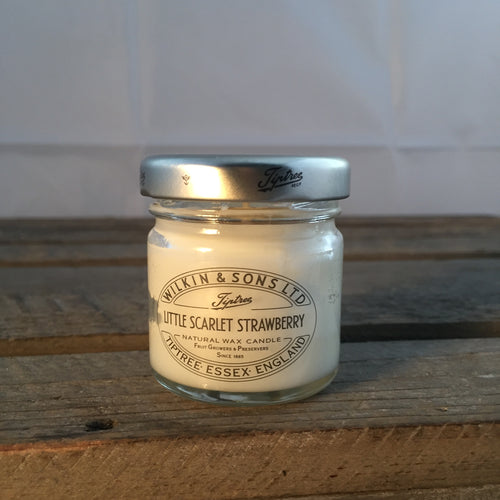 Tiptree Wilkin & Son Little Scarlet Stawberry Candle