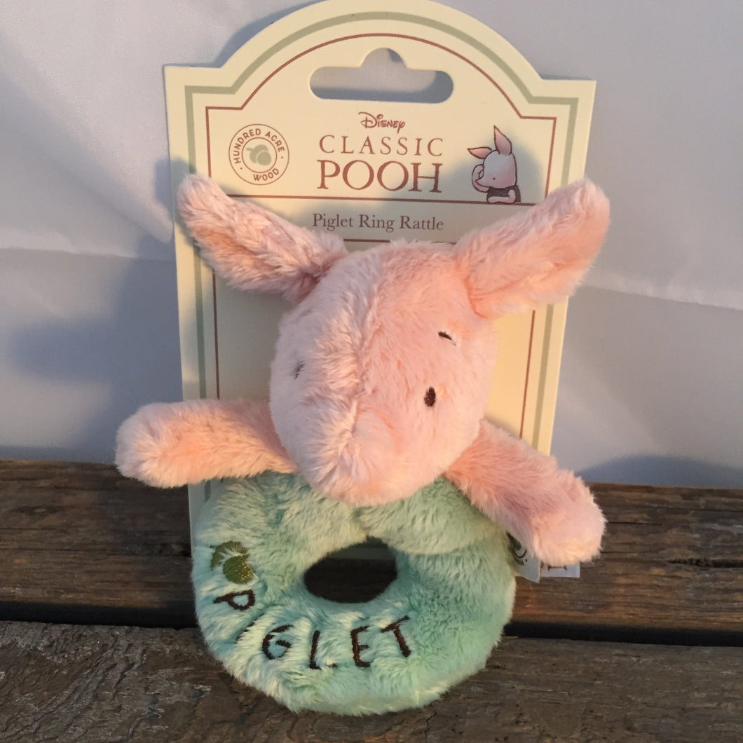 Disney Piglet Soft Rattle