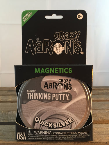 Quicksilver Magnetic Putty - Aaron's Thinking Putty