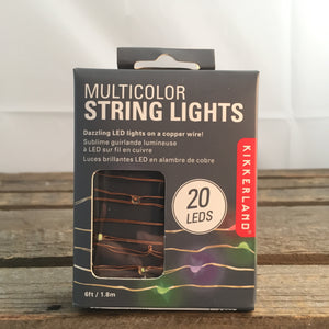 Multicolor String Lights