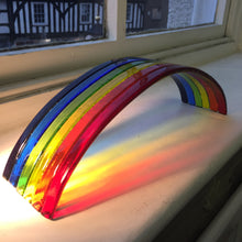 Large Glass Handmade Rainbow