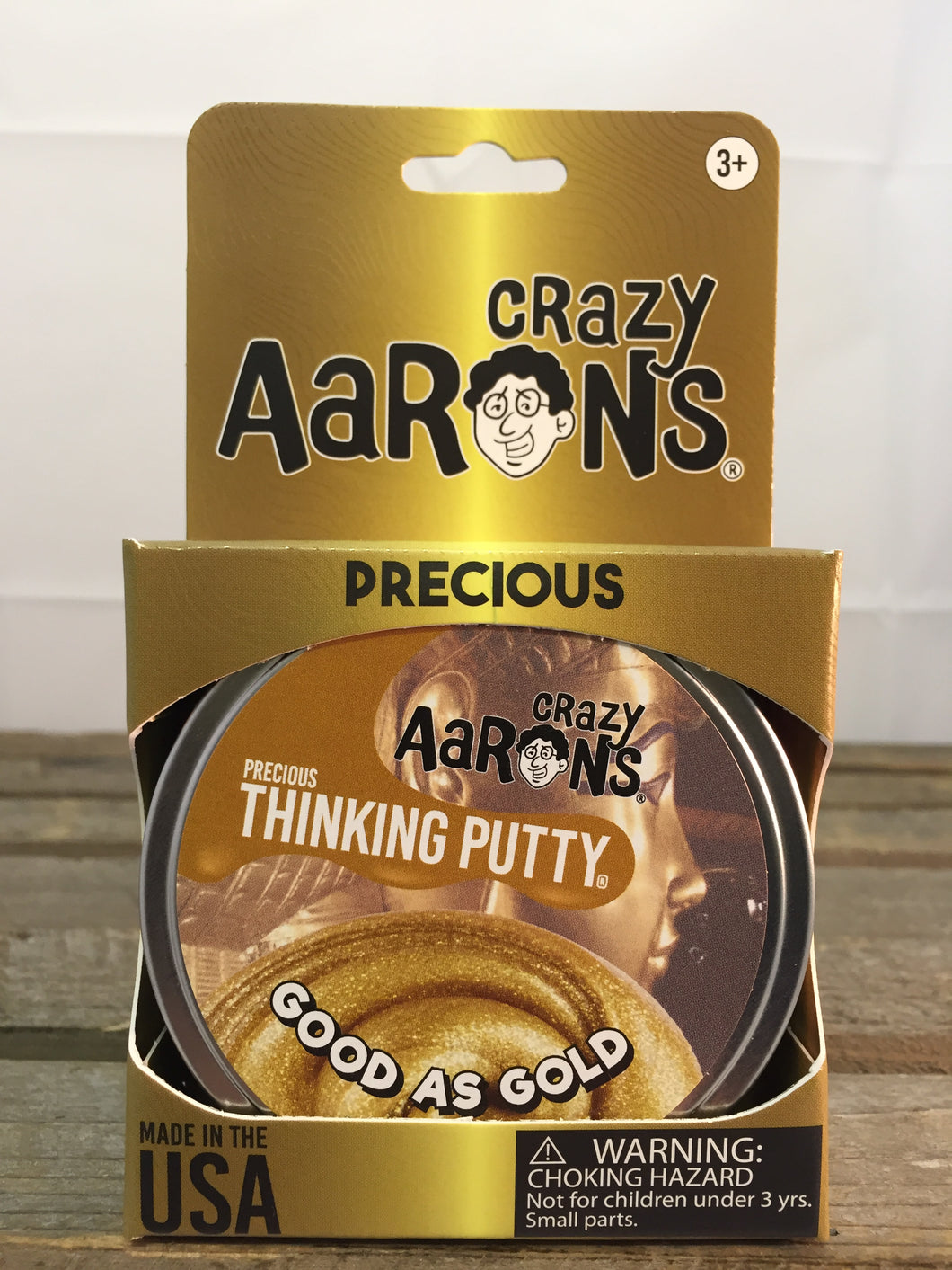 Good As Gold Precious Metals Putty - Aaron's Thinking Putty