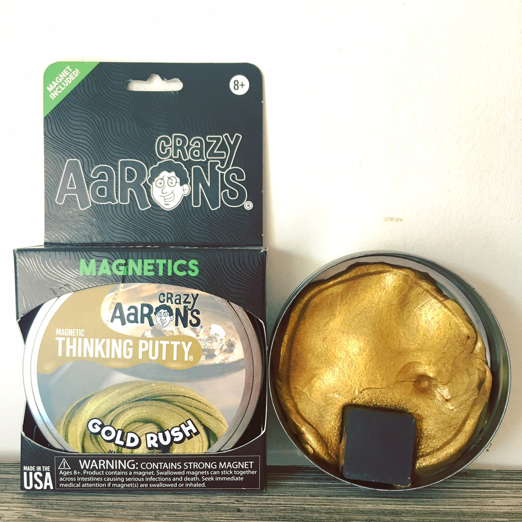 Gold Rush Magnetic - Aaron's Thinking Putty