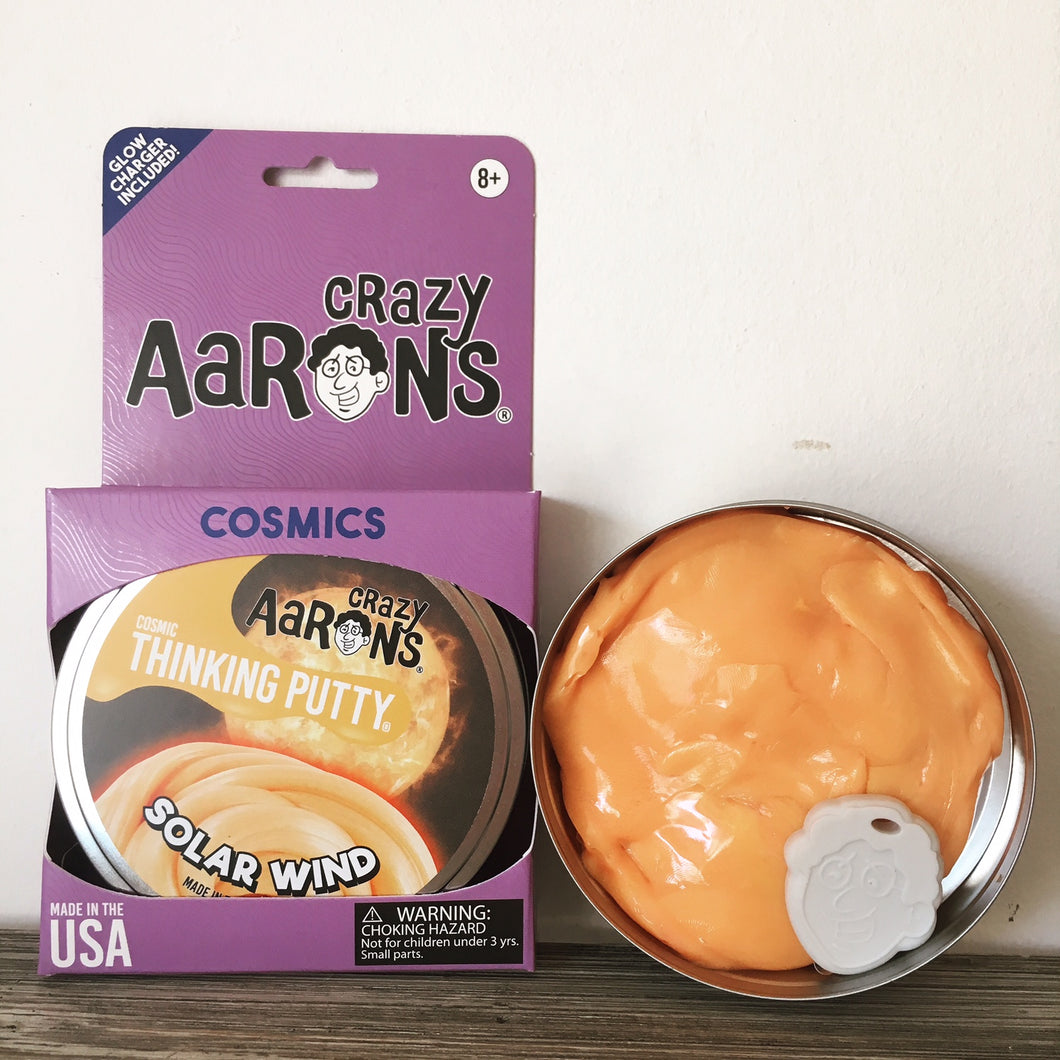 Solar Wind Glow in the Dark - Aaron's Thinking Putty