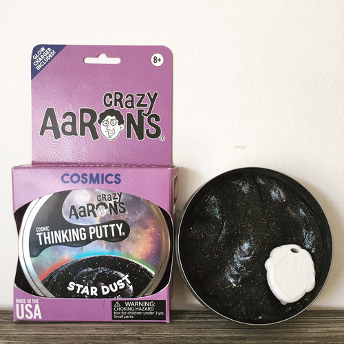 Star Dust Glow in the Dark - Aaron's Thinking Putty