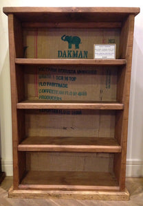 Medium Shelving with Hessian back detail