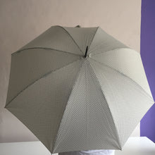 Light Brown Flowered Umbrella