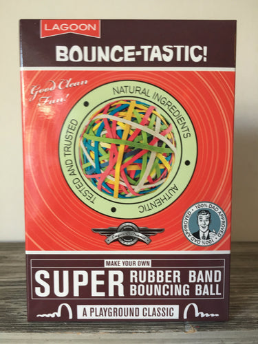 Bounce-Tastic! Super Rubber Band bouncing ball!