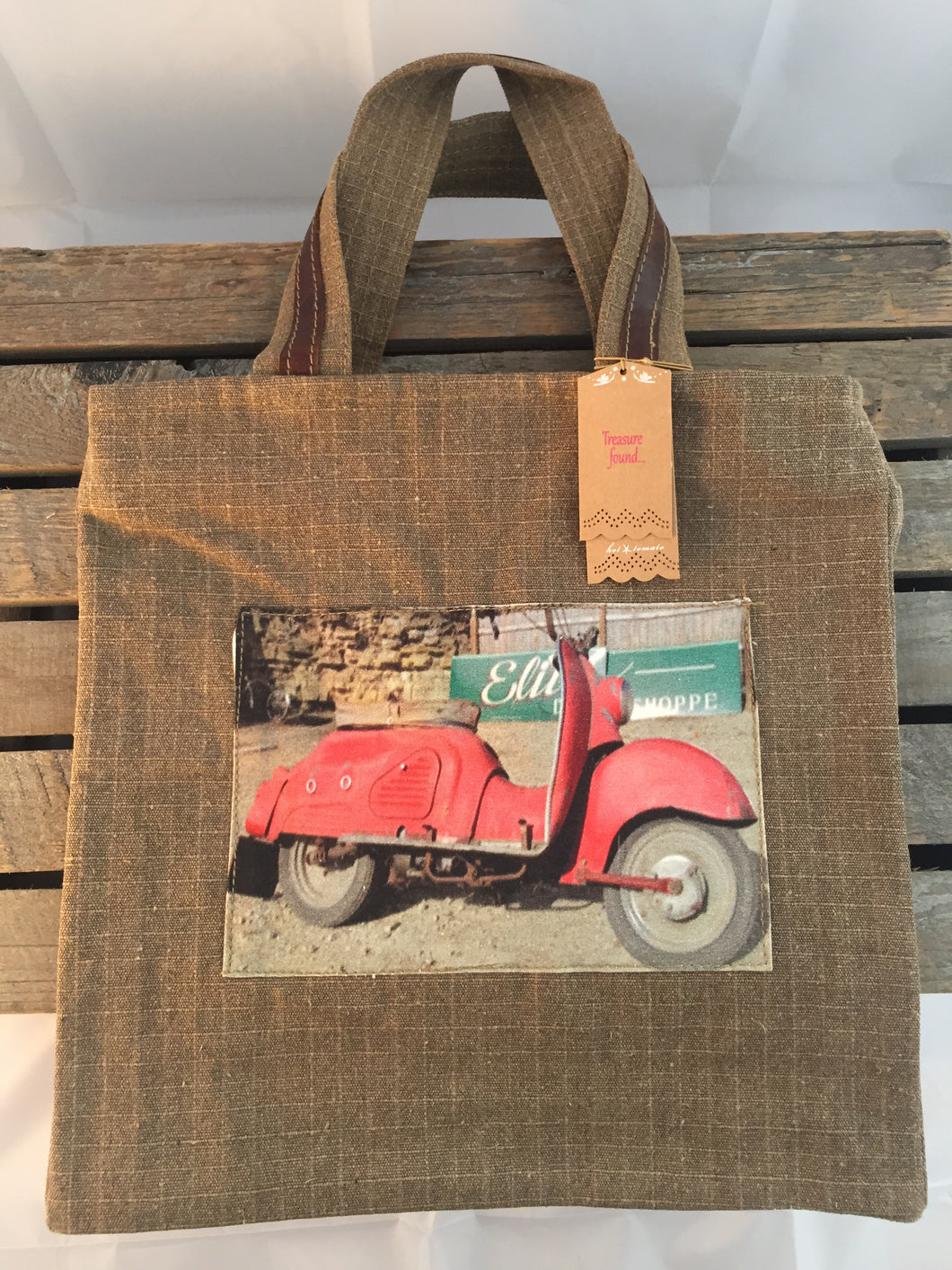 Bag with Scooter Design