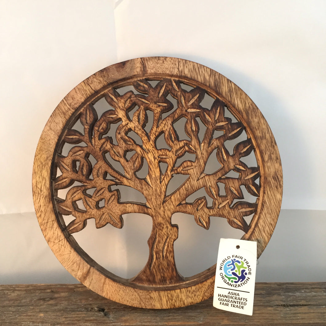 Fair trade Wooden Tree
