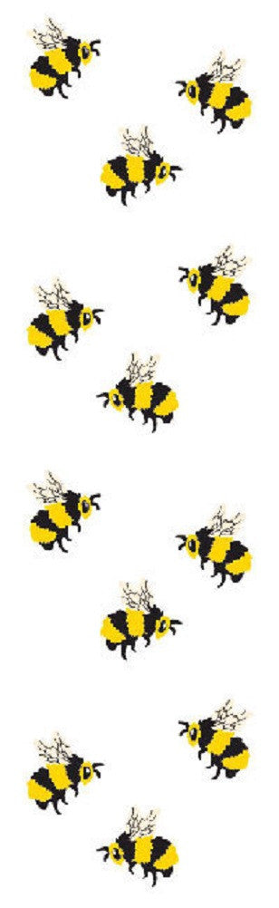 Full Roll - Mrs Grossman's Stickers - BEES - Off The Wall Toys and Gifts