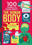 Usborne 100 Things to Know About the Human Body Paperback Book