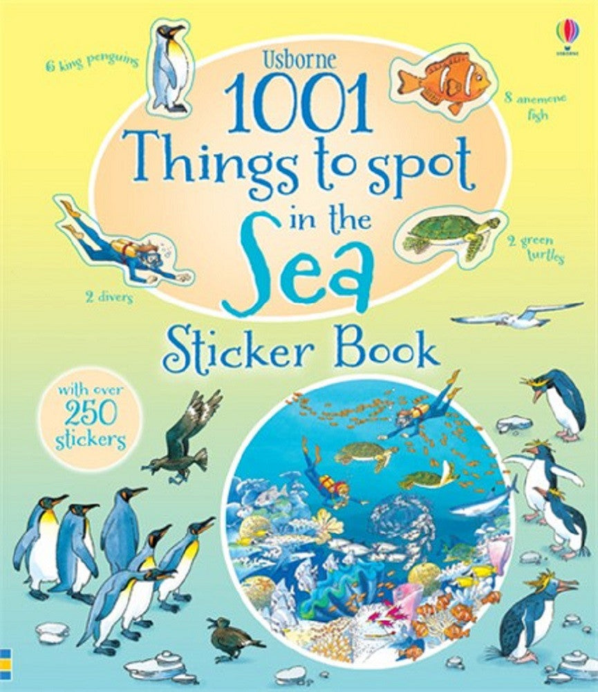 1001 Things to Spot in the Sea - Usborne Sticker Book