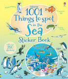 1001 Things to Spot in the Sea - Usborne Sticker Book - Off The Wall Toys and Gifts