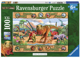 Dinosaurs 100 Piece Premium Puzzle, by Ravensburger - Off The Wall Toys and Gifts