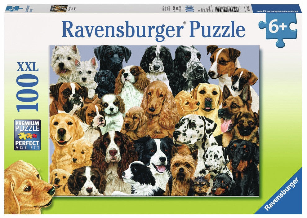 Mother's Pride Dogs 100 Piece Premium Puzzle, by Ravensburger - Off The Wall Toys and Gifts