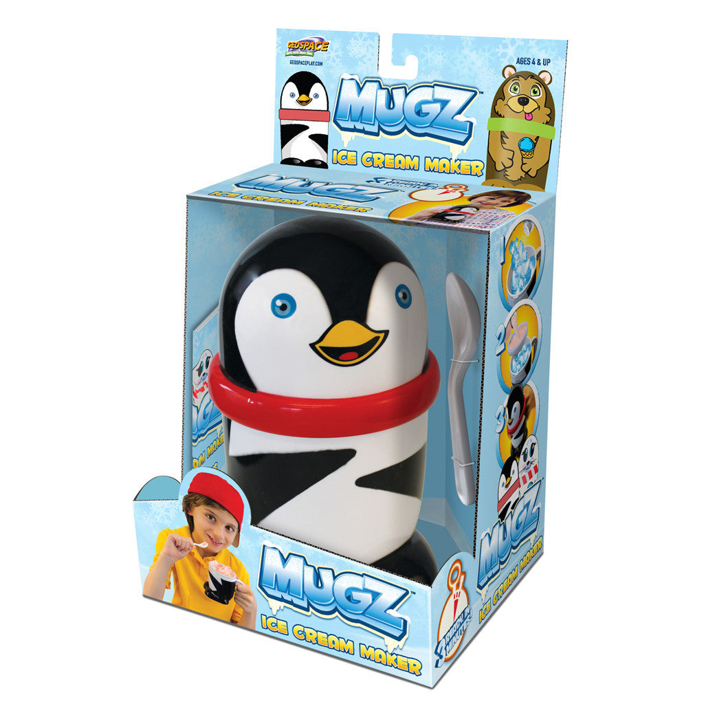 Mugz Kids Ice Cream Maker - Penguin - Off The Wall Toys and Gifts