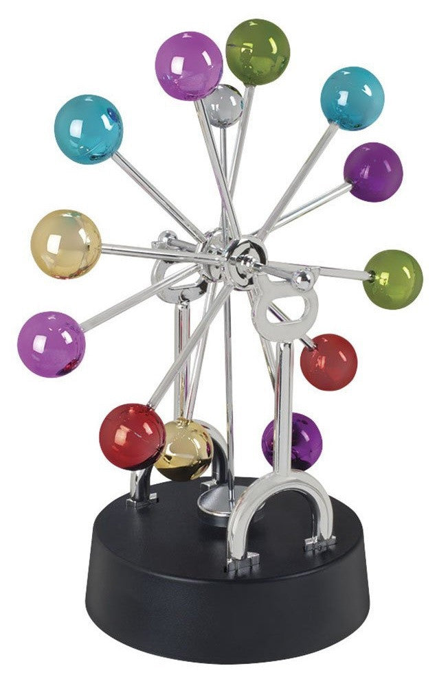 Asteroid Spinning Wheel Kinetic Art - Mesmerizing Physics Sculpture - Off The Wall Toys and Gifts