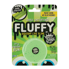 Fluffy Squishy Like Slime  Single Green Pack by Compound Kings