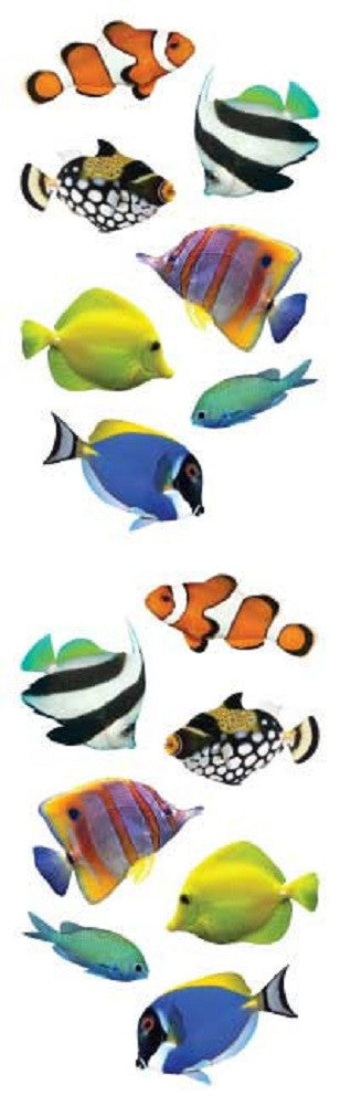 Mrs Grossman's Stickers -  Tropical Fish Animal Photos