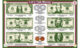Let's Talk Money - Math Activity Placemat  by Tot Talk - Off The Wall Toys and Gifts