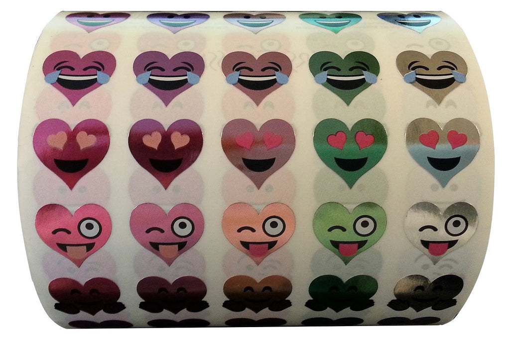 Mrs. Grossman's Stickers Heart Emotions Giant Roll
