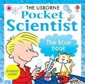 Pocket Scientist -The Blue Book for Children -  Hardback - Off The Wall Toys and Gifts