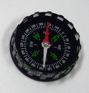Liquid Filled Black Compass 40mm Diameter Quantity Discounts