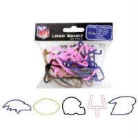 Baltimore Ravens Logo Bandz Rubber Bands v2 20/pk - Off The Wall Toys and Gifts