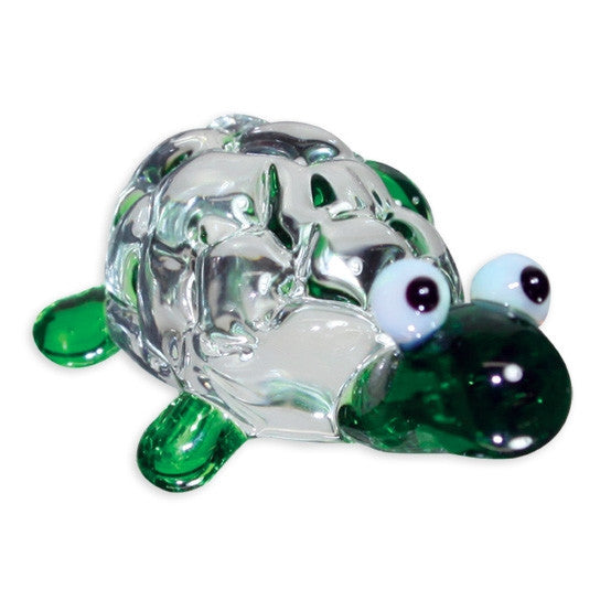 Looking Glass Torch Reptile Figurine -Turbo the Tortoise - Off The Wall Toys and Gifts