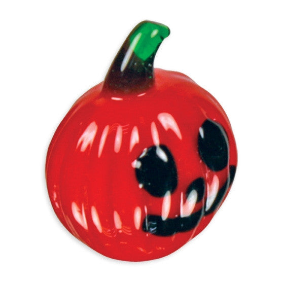 Looking Glass Torch Miniature Halloween Figurine -Jack-O the Pumpkin
