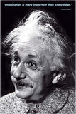 Albert Einstein's Classic Imagination Poster, 24x36 - Off The Wall Toys and Gifts