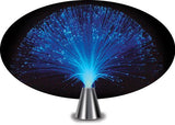 Blue Micro Fiber Optic Light - 13 inches tall