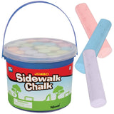 Jumbo Sidewalk Chalk Bucket by Toysmith - Off The Wall Toys and Gifts
