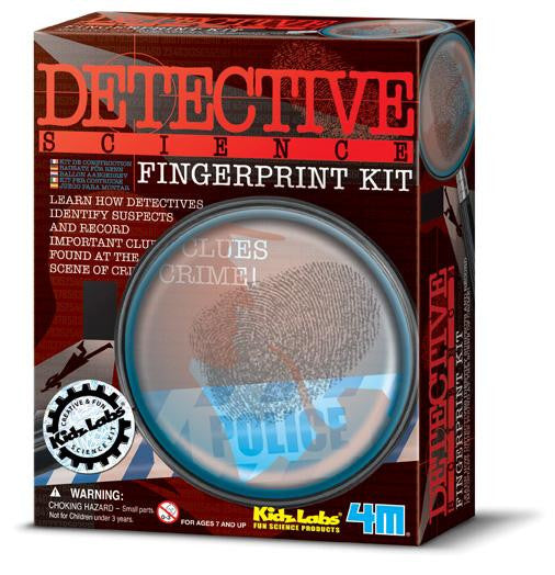 Fingerprint Kit Detective Science Forensics by 4M