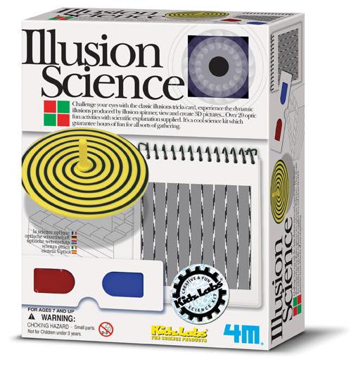 Optical Illusion Science Kit 20 Fun Activities by 4M