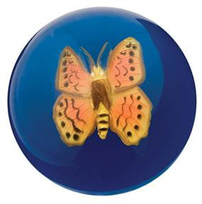 Hi-Bounce Ball w Large Butterfly Great Detail - Off The Wall Toys and Gifts