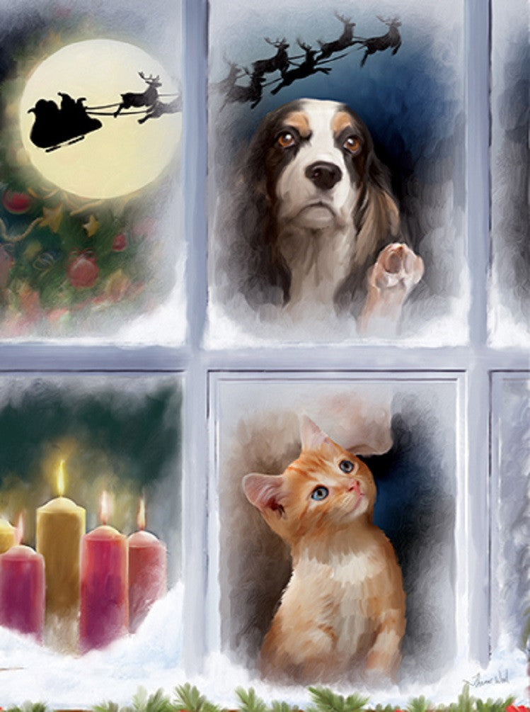 The Night Before Christmas - Pets Jigsaw Puzzle - 1000 pc