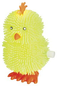 Baby Chick Happy Hopper - Wind Up Hopping Chicken - Off The Wall Toys and Gifts