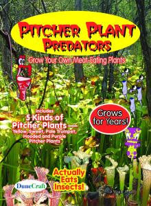 Pitcher Plant Predators - Carnivorous Plant Seeds - Off The Wall Toys and Gifts