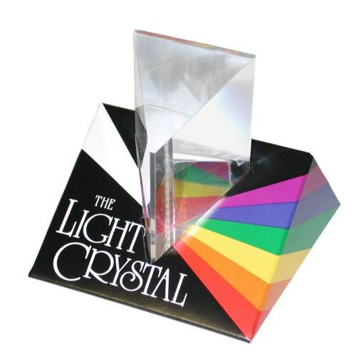 Light Crystal Prism 2.5 Inch: Split Light into Rainbow - Off The Wall Toys and Gifts