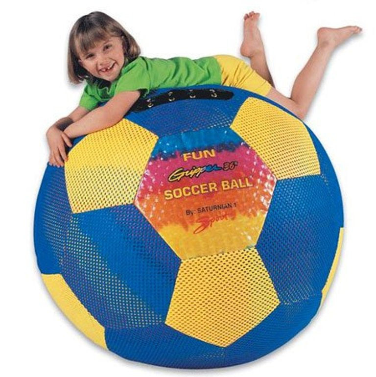 Fun Gripper Giant Sport 36 Inch Soccer Ball w Pump