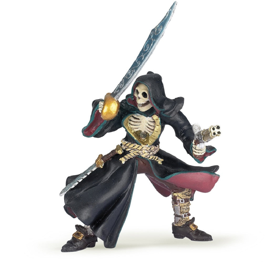 "3.5"" Tall Skeleton Pirate - Fantasy Corsair Figure, Model by Papo - Off The Wall Toys and Gifts"