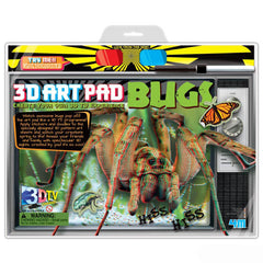 3D Art Pad Bugs 4M Kit - Off The Wall Toys and Gifts