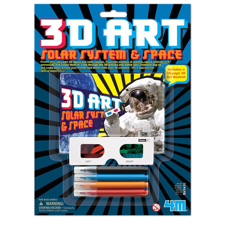 3D Art Solar System & Space 4M Kit by Toysmith - Off The Wall Toys and Gifts